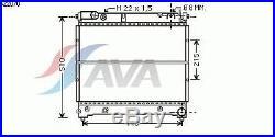 Radiateur, refroidissement du moteur SUZUKI SAMURAI (SJ) 1.9 TD