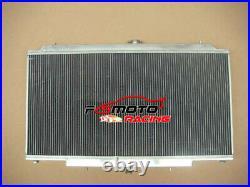 Radiateur +ventilateur en aluminium Nissan GU PATROL Y61 TD 4.2L Automatic AT MT