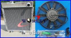 Radiateur + ventilateur pour Ford Mustang V8 289 302 WINDSOR 1964 1965 1966