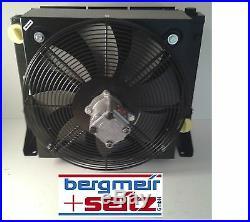 Refroiddiseur D'Huile Radiateur Hydraulique 30kw Avec Moteur Et Fan Bypass