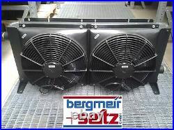 Refroiddiseur D'Huile Radiateur Hydraulique 40kw Avec Ventilateur 12V 24V V