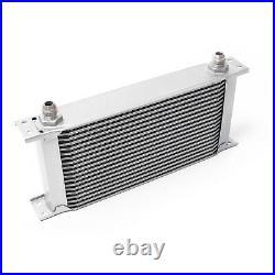 Refroidisseur dhuile pour moteur en Aluminium 19 Rangées dailettes Radiateur