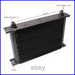 Refroidisseur dhuile pour moteur en Aluminium 25 Rangées dailettes Radiateur