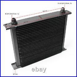Refroidisseur dhuile pour moteur en Aluminium 30 Rangées dailettes Radiateur