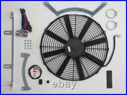 Revotec Électronique Refroidissement Ventilateur Kit Conversion Jaguar Xk 140