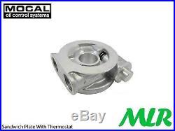 Rover Mg Mgf Mg Tf Série K Mocal 1/2BSP Huile Moteur Radiateur Kit ZO1K-13/16UNF
