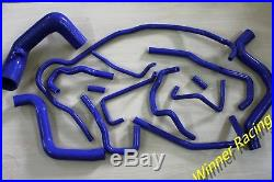 Silicone Hose Kit Fit Nissan Patrol/Safary GR 3.0TD ZD30 Y61 Blue 14 PCS
