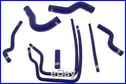 Sport Blue Silicone Water Hoses Kit Mg-sl-013 Subaru Impreza Gc8 Ej20 97-01