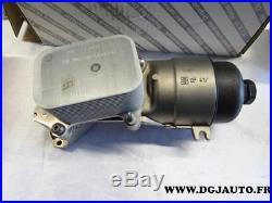 Support filtre à huile radiateur echangeur temperature 9656970080 fiat scudo HDI