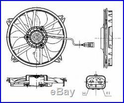 Tout Neuf Radiateur Ventilateur pour Peugeot 307 cc 2.0 HDI 135 2005-2009