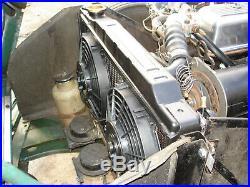 Triumph Herald Spitfire Double Superslim Électrique Ventilateur Radiateur Kit