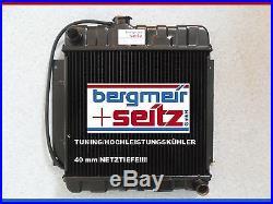 Tuning Haute Performance Radiateur, Refroidisseur D'Eau BMW 1602 1802 2002 02