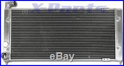 VW Golf 2 VR6 Corrado 630x310x40mm EN ALUMINIUM Refroidisseur d'eau Turbo 2,8