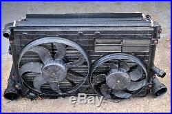 VW Passat B6 2.0 TDI radiateur/ventilateur paquet 1K0121207AA/1K0145805G/