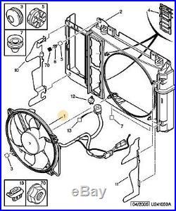 Ventilateur De Radiateur Citroen Xsara Picasso 1.6 Hdi (d'origine 1253g4)