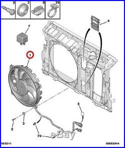Ventilateur De Radiateur Peugeot 607 04 (d'origine 1253f7)