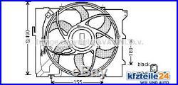 Ventilateur Refroidissement Moteur kfzteile24 entre Autres Choses pour BMW de
