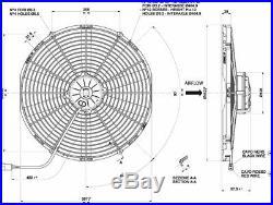 Ventilateur Spal Va18-ap70/ll-41a