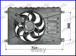 Ventilateur (refroidissement Moteur) Pour Ford S-max 2.0 Tdci, 1.8 Tdci, 2.2 Tdci