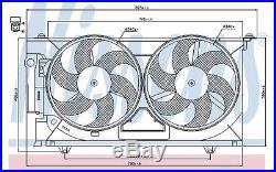 Ventilateur(refroidissement moteur)Peugeot 306 1.9 SLD TD D NISSENS 85074